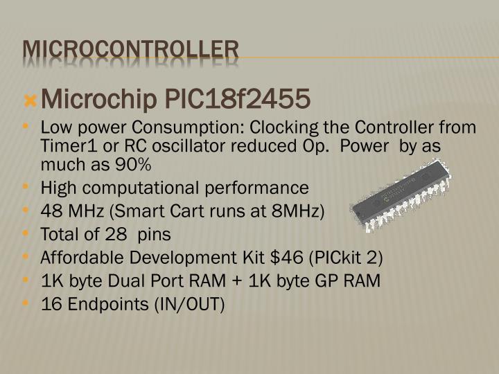 Microchip PIC18f2455