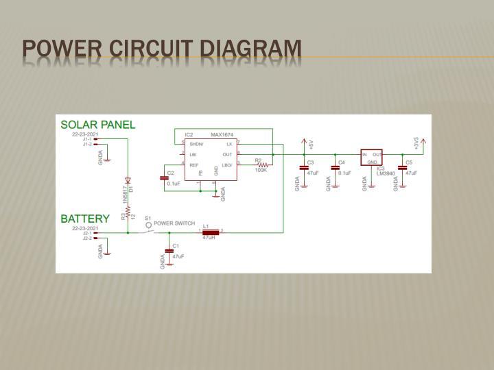 Power Circuit Diagram