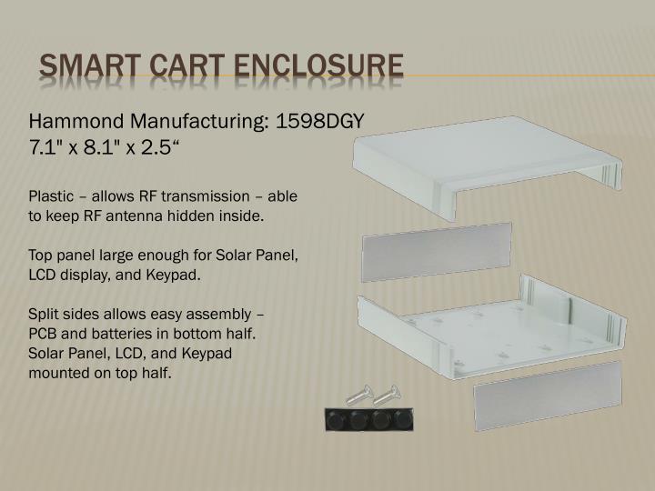 Smart Cart Enclosure