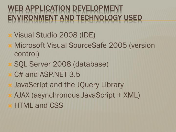 Visual Studio 2008 (IDE)