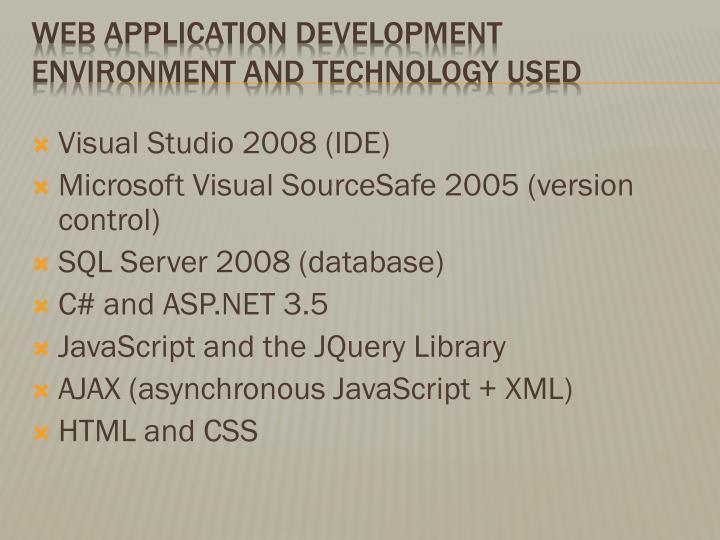 Visual Studio 2008 (IDE)