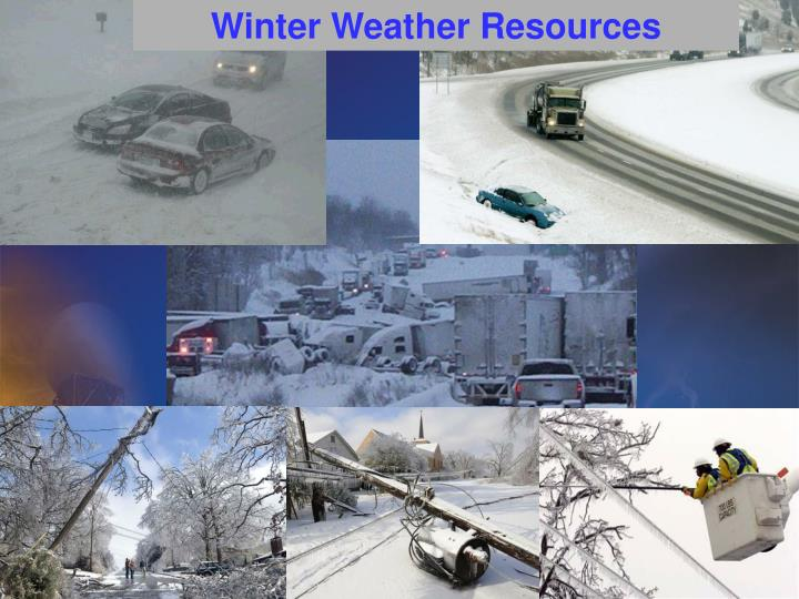 Winter Weather Resources