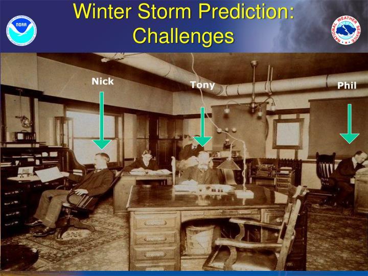 Winter Storm Prediction: