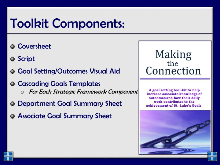 Toolkit Components: