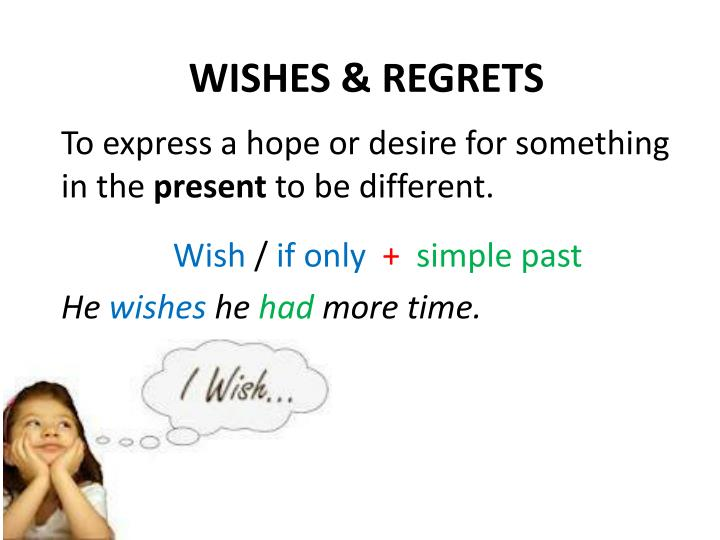 Wishes regrets
