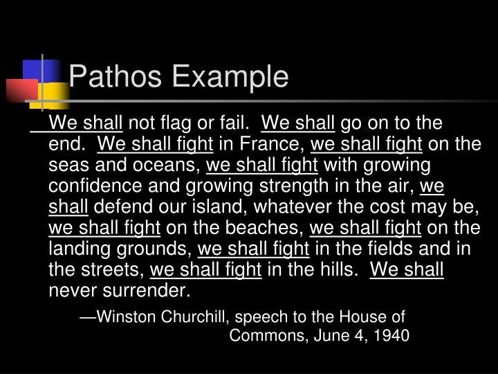Pathos Example