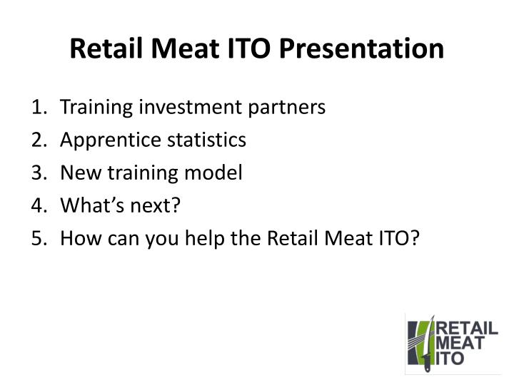Retail meat ito presentation