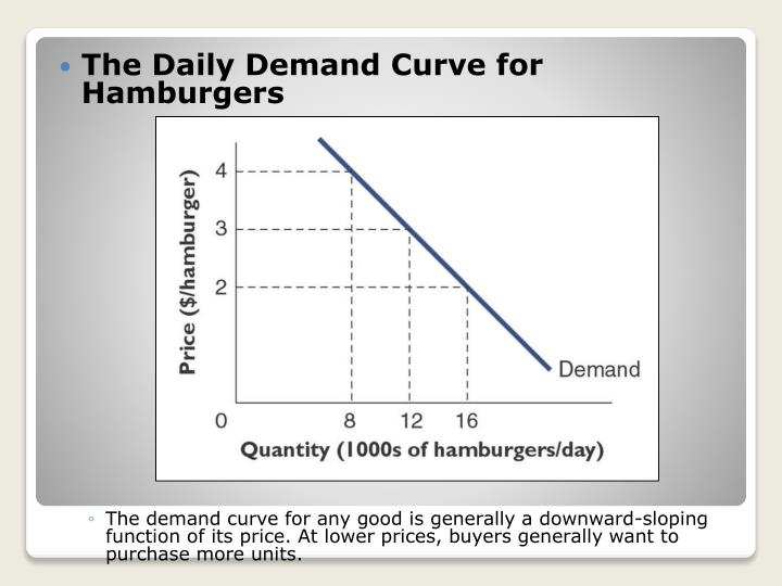 The Daily Demand Curve for