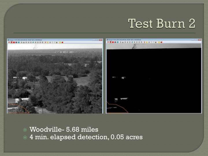Test Burn 2