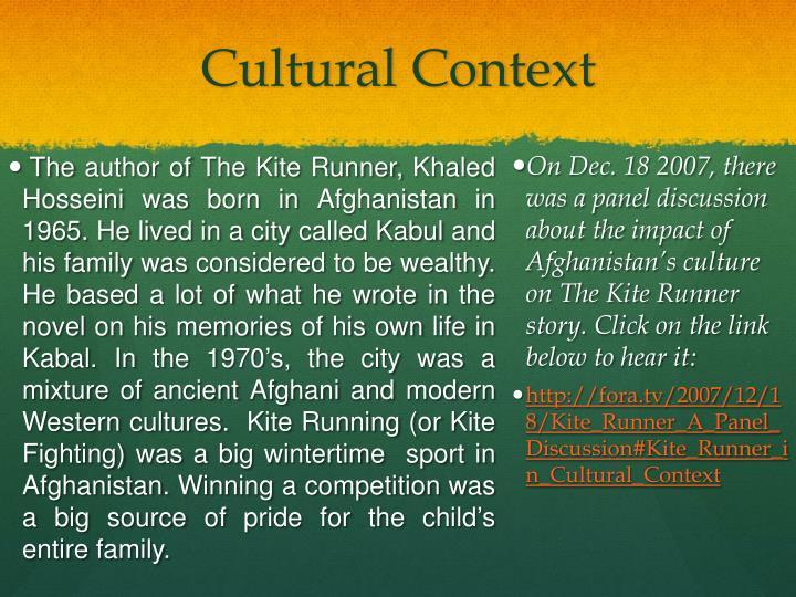 Cultural Context