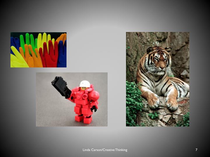 Linda Carson/Creative Thinking