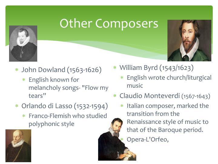 Other Composers