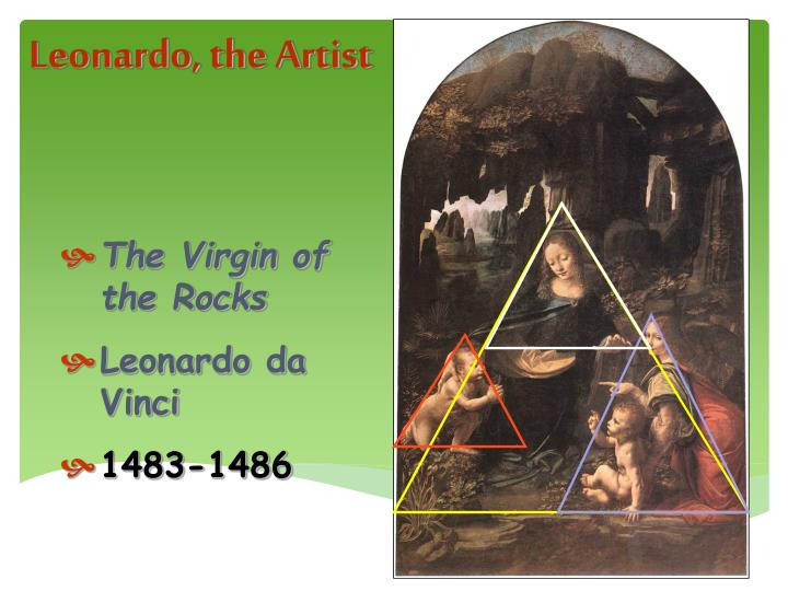 Leonardo, the Artist
