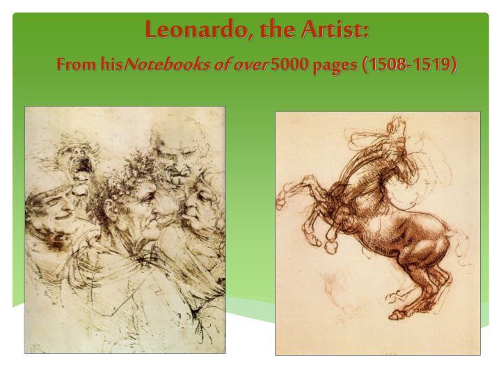 Leonardo, the Artist:
