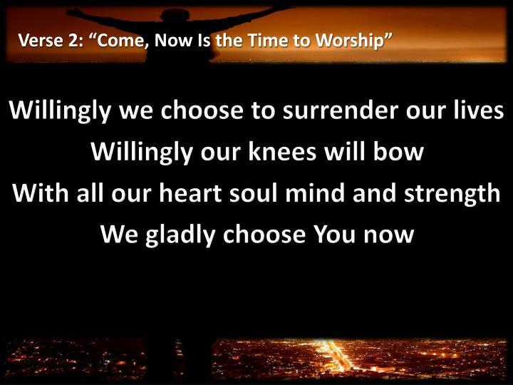Verse 2:
