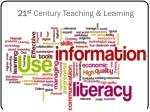 21 st century teaching learning