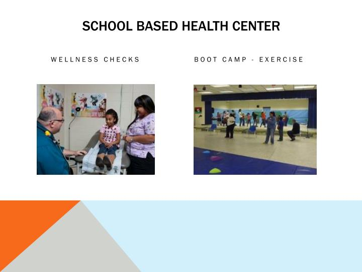 School based health center