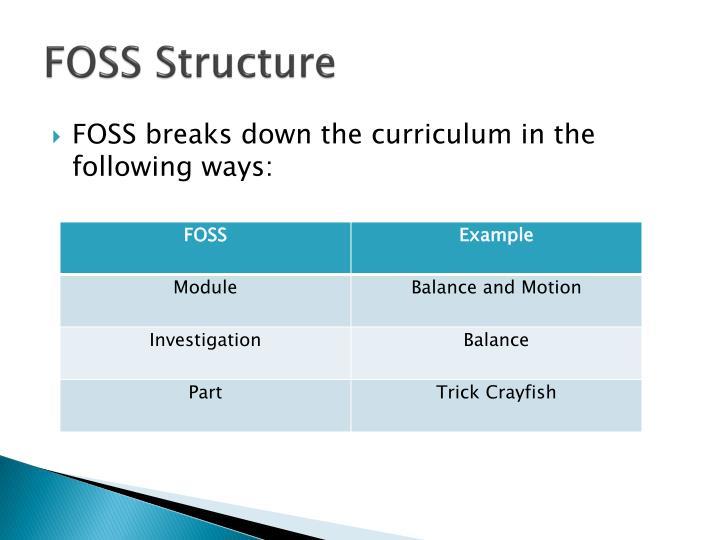 FOSS Structure