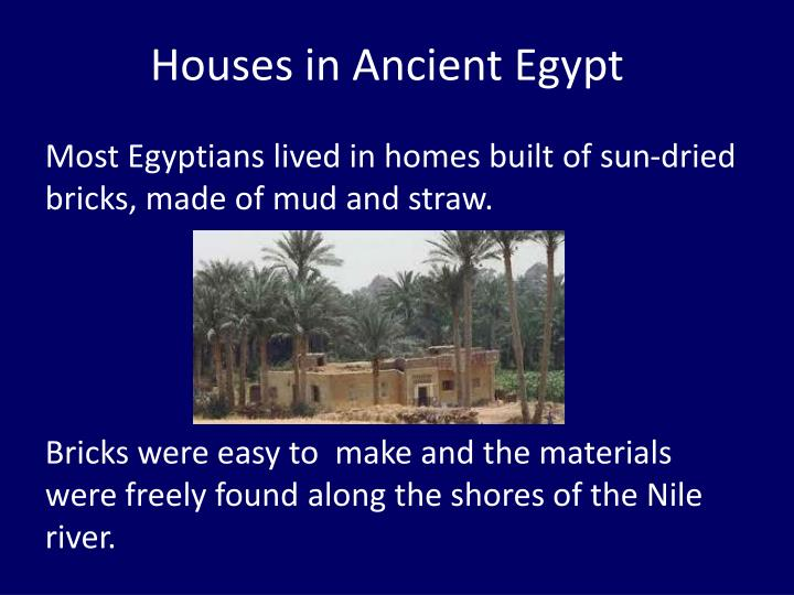 houses in ancient egypt