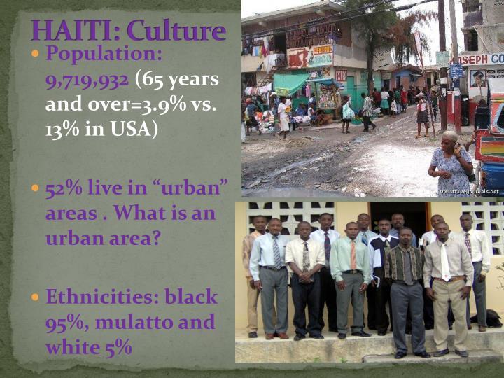 HAITI: Culture