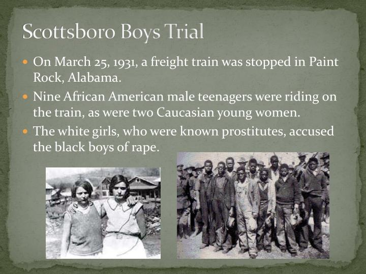 scottsboro boys in to kill a During the 1930s, nine african- american boys were falsely accused of raping two women and beating up two white homeless men charles weems, clarence norris, andy wright, ozie powell, and olen montgomery were the scottsboro boys who were involved in the trial.
