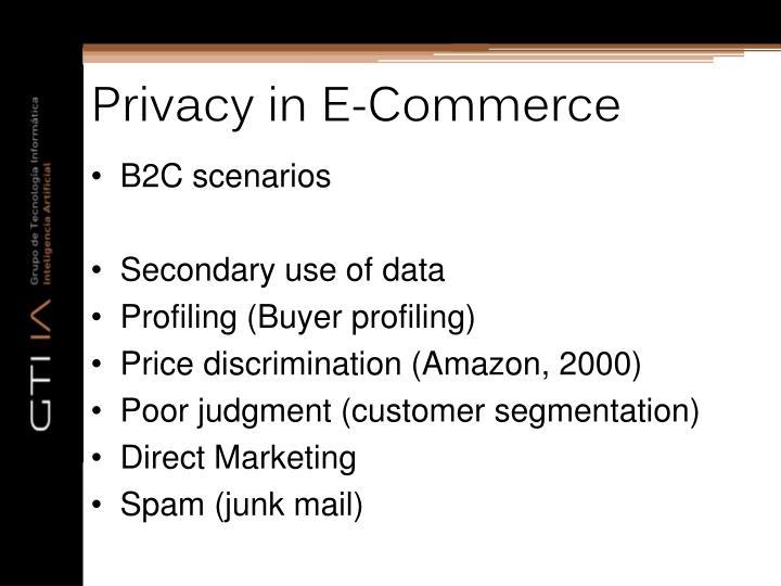 Privacy in E-Commerce