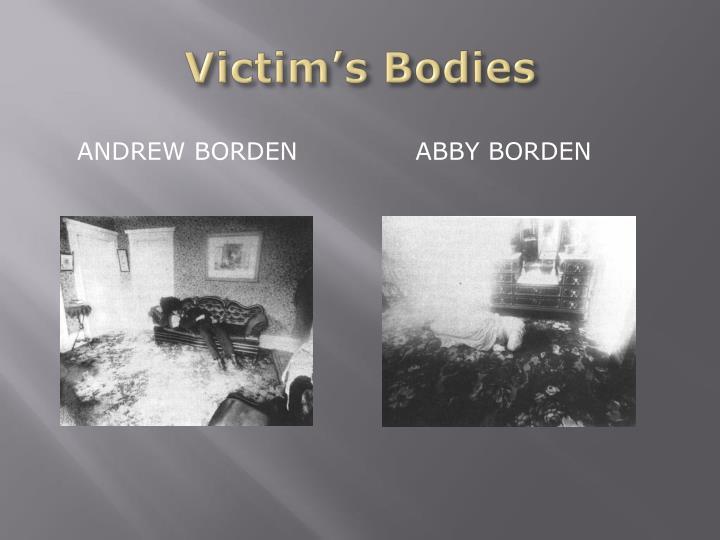 Victim's Bodies