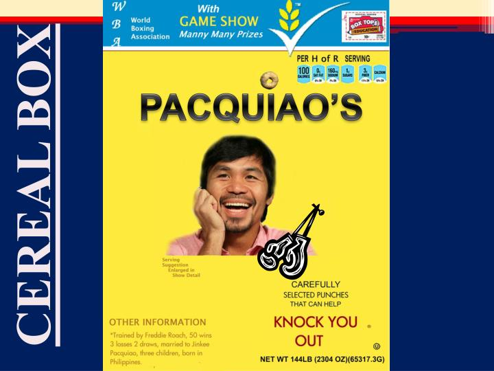 PACQUIAO'S