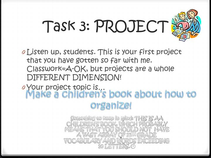 Task 3: PROJECT