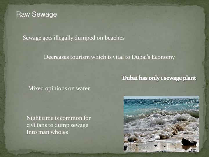 Raw Sewage