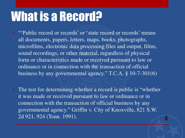 """'Public record or records' or 'state record or"