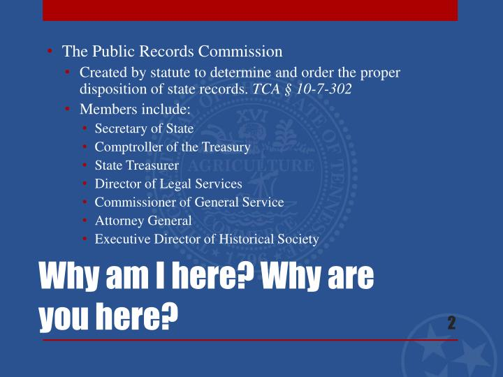 The Public Records Commission
