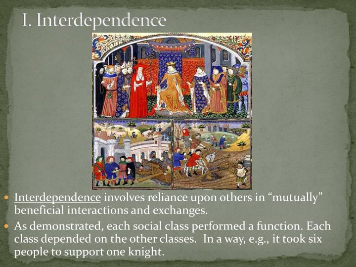 I interdependence
