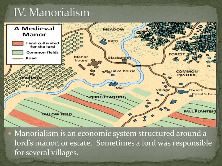 IV. Manorialism
