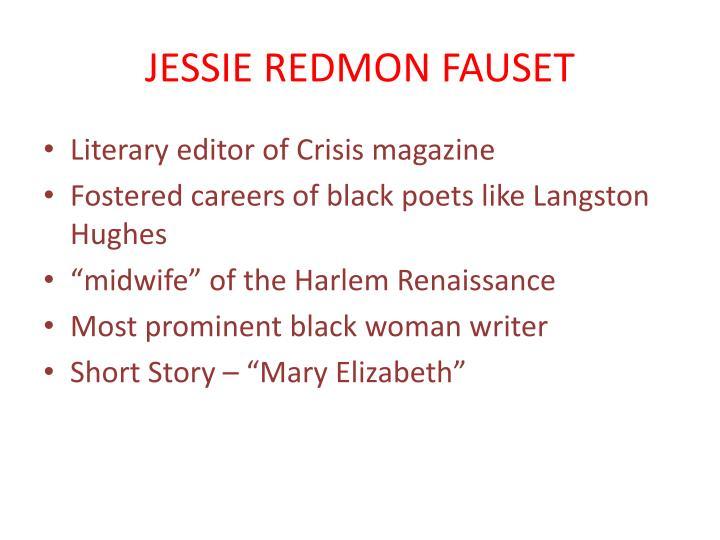 JESSIE REDMON