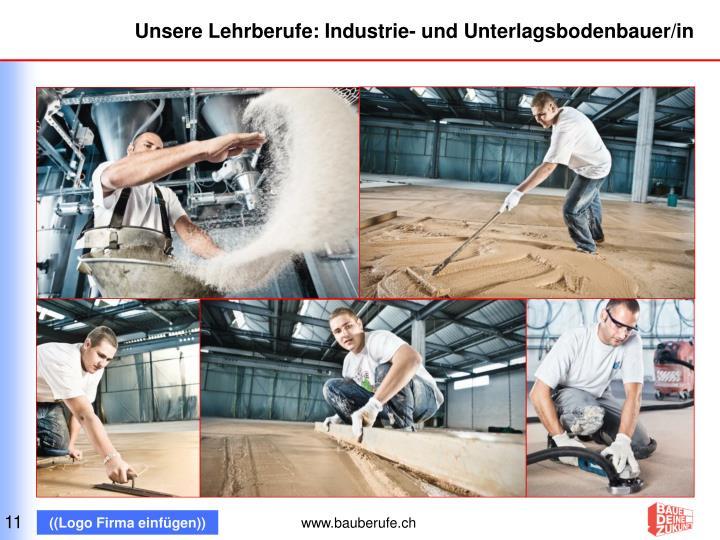 Unsere Lehrberufe: Industrie- und