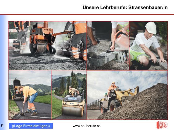 Unsere Lehrberufe: Strassenbauer/in