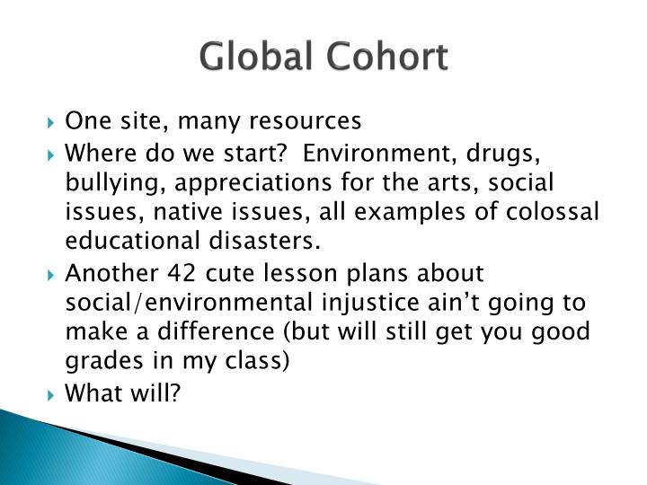 Global Cohort