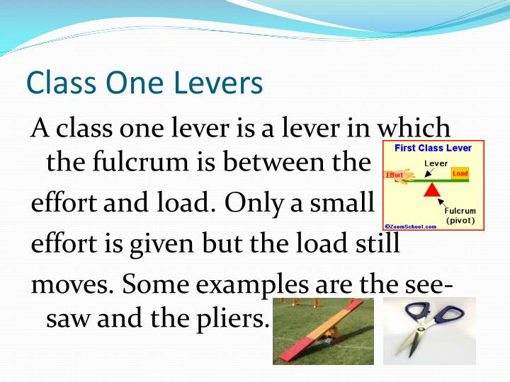 Class One Levers