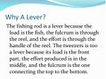 why a lever2