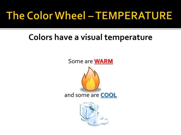 The Color Wheel – TEMPERATURE