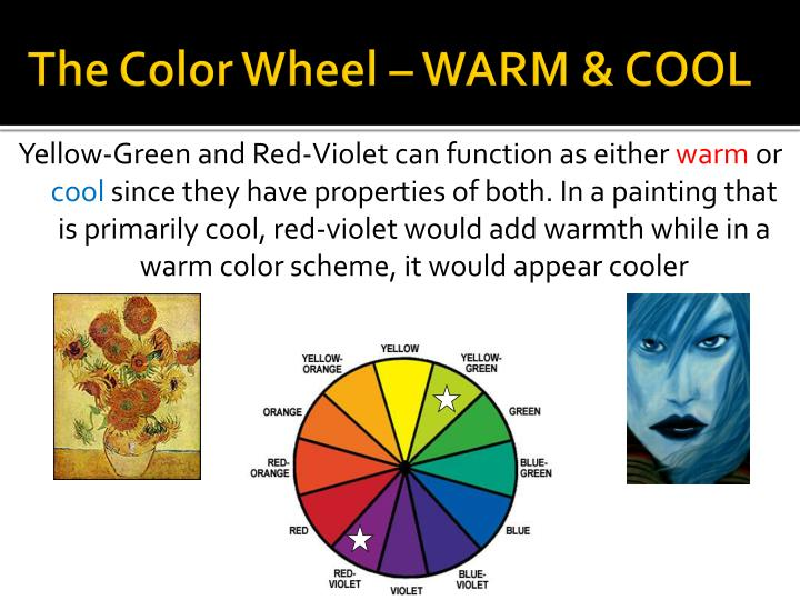 The Color Wheel – WARM & COOL