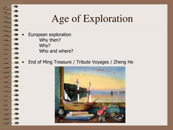 Age Of Exploration Ppt: UNIT III: World Circa 1450-1750 PowerPoint