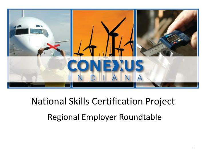 National skills certification project
