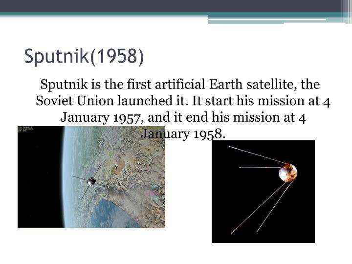 Sputnik(1958)
