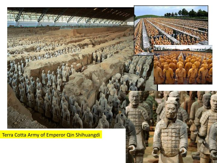 Terra Cotta Army of Emperor Qin Shihuangdi