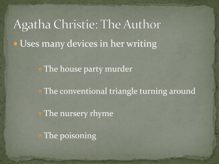 Agatha Christie: The Author