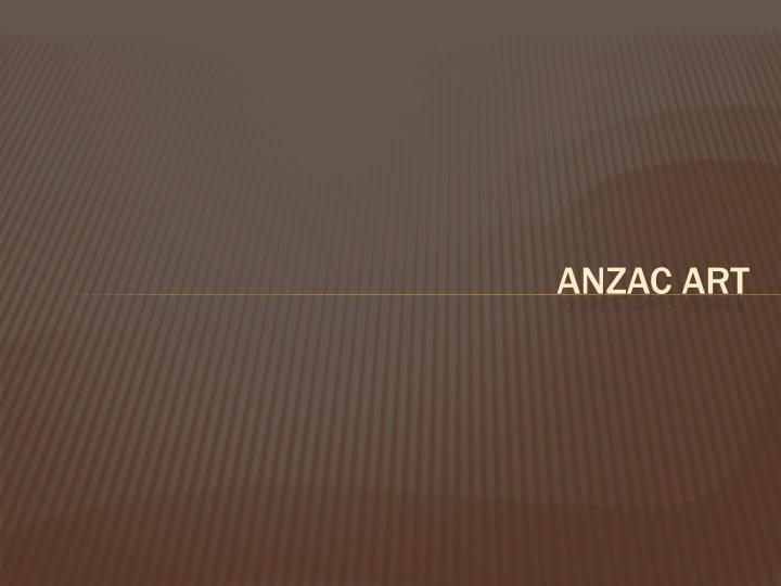 Anzac Art