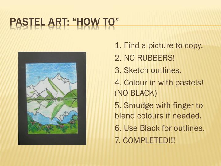 """Pastel Art: """"How TO"""""""