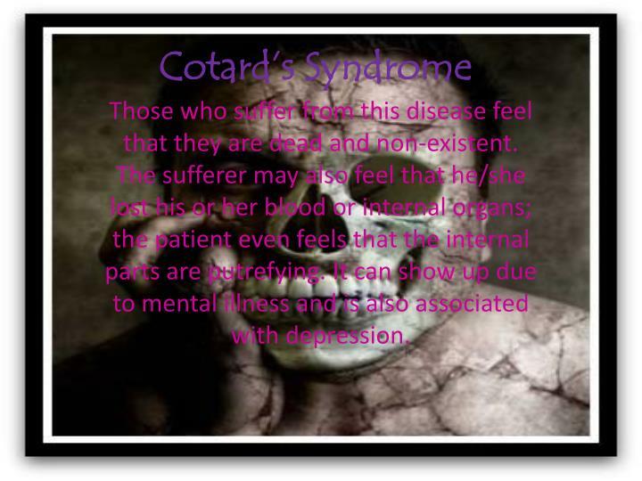 Cotard's